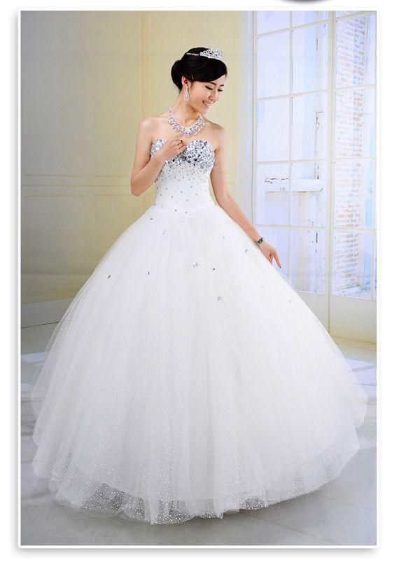 Glitter wedding dresses pinterest 2018 2019 wedding for Wedding dresses with sparkles