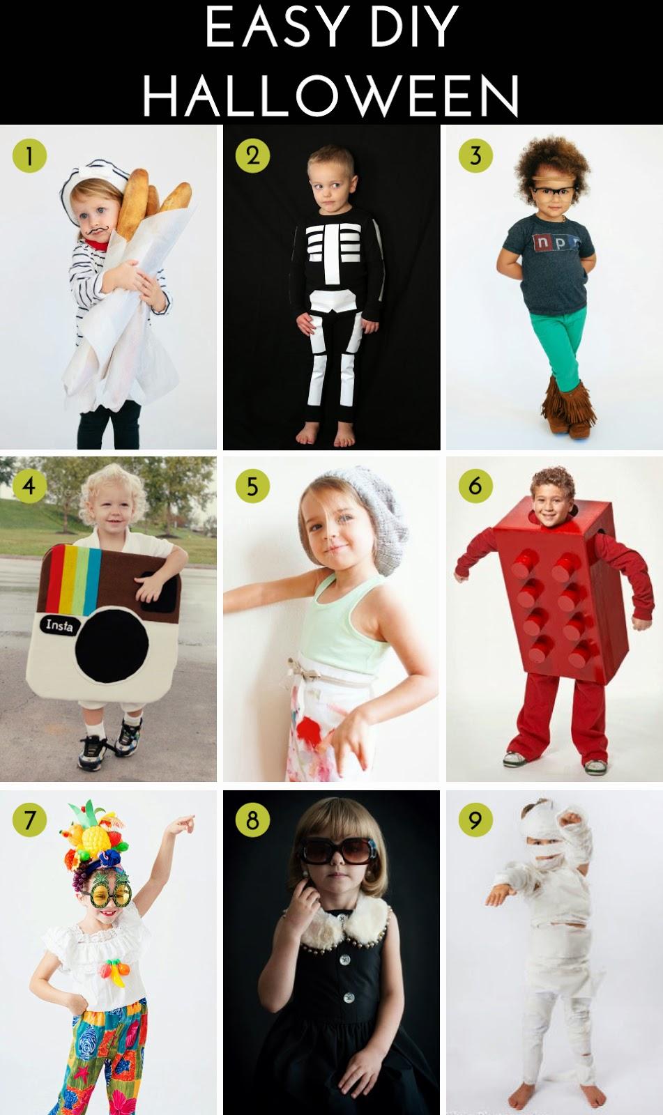 Not-So-SAHM: Easy DIY Halloween Costumes