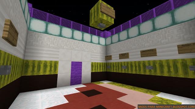 Mapa multi genero para Minecraft 1.8 y superiores