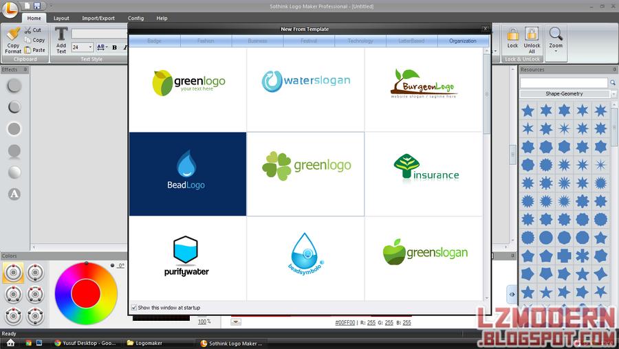 Sothink Logo Maker 4.0 Professional Portable (Registered) Screenshot