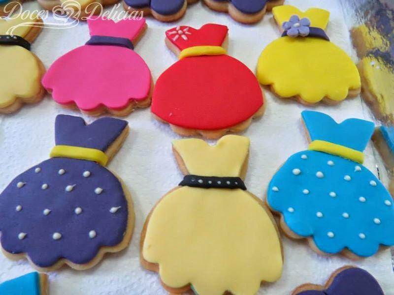 Biscoitos Chá de Lingerie