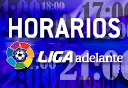 "HORARIOS FUTBOL ""ADELANTE"""