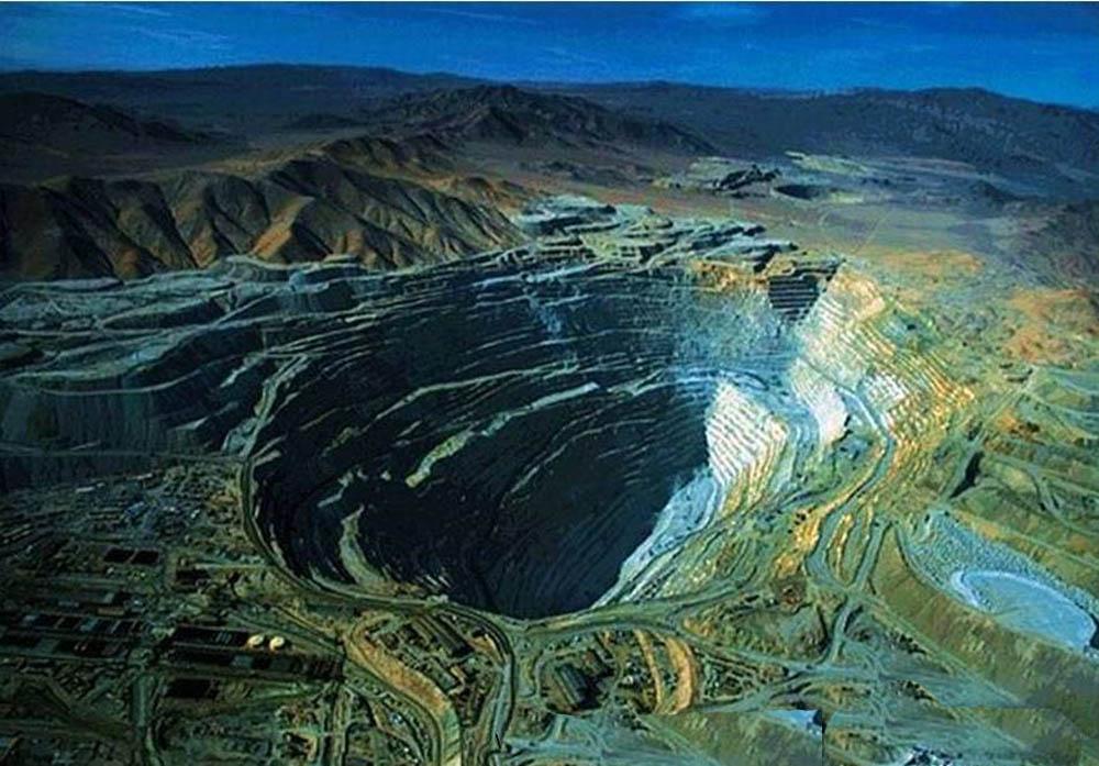 Chuquicamata, mina de cobre no Chile