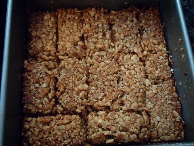 coconut oil rice krispie treats recipe | Halal Home Cooking