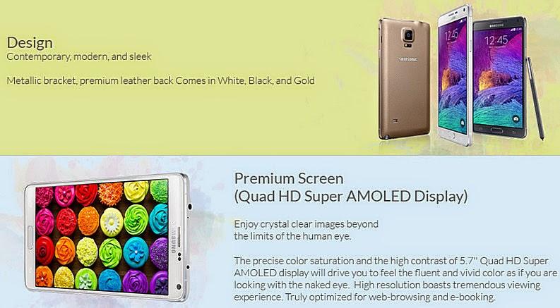 Samsung Galaxy Note 4, Smart Samsung Galaxy Note 4