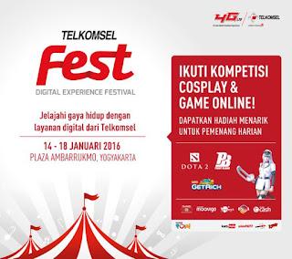 Ikuti Kompetisi Cosplay dan Game Online By Telkomsel
