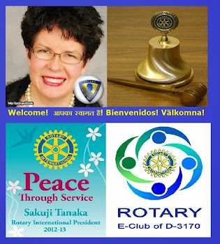 Rotarian Lizette Odfalk on Facebook