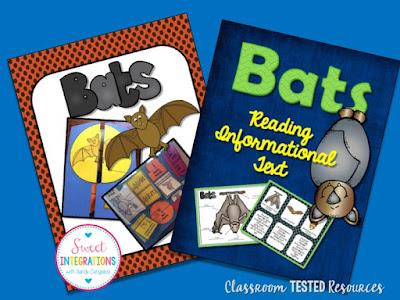 Bats - Informational Text and Bat Lapbook
