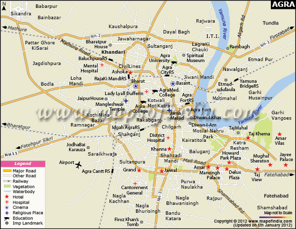 Agra India  City pictures : Tourist Attractions in Agra India: The Complete Guide of Agra ...