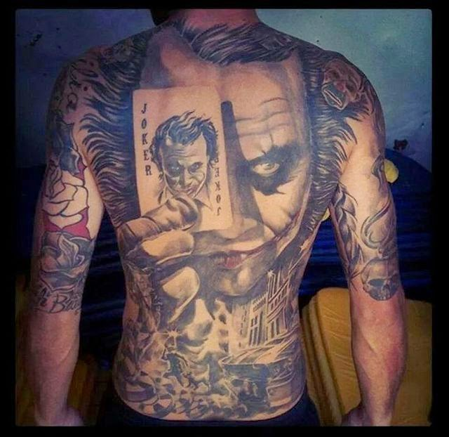 Tattoo trends great man film actor superhuman