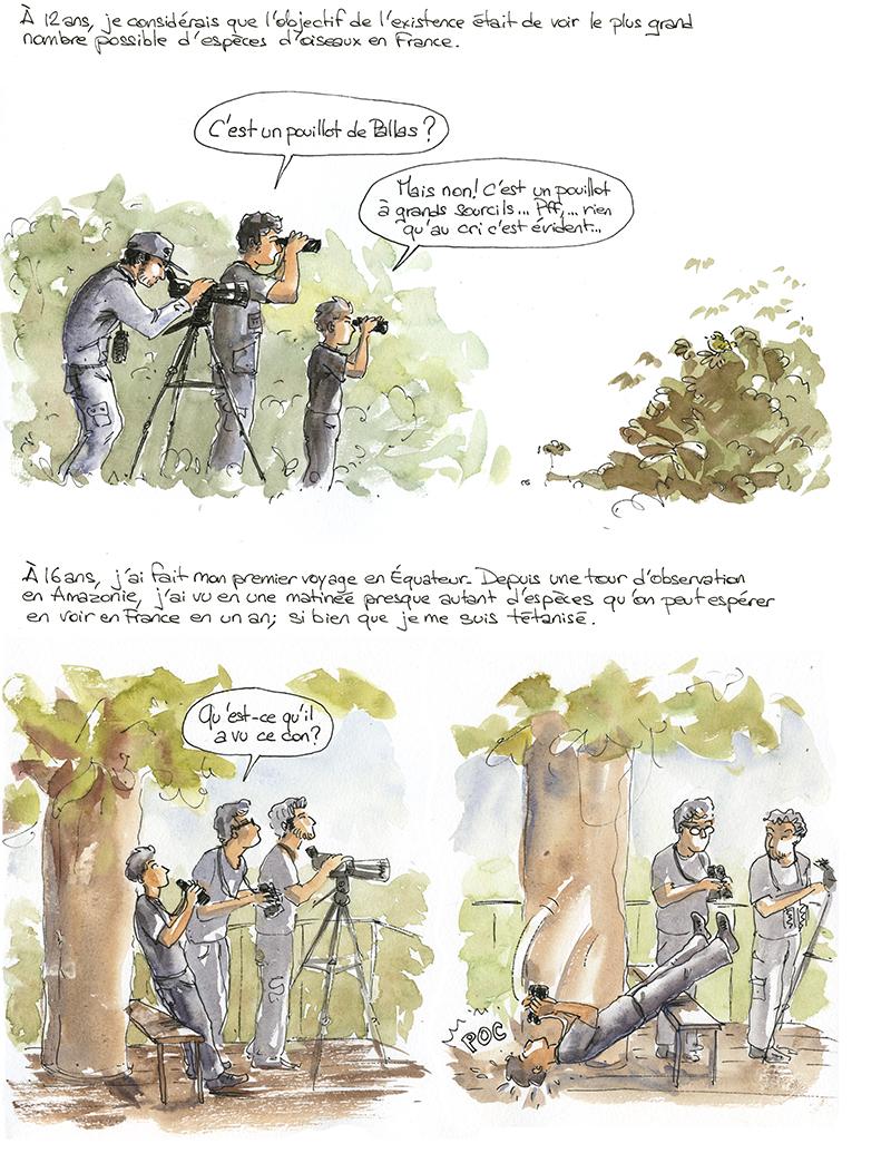 ornithologie en Equateur
