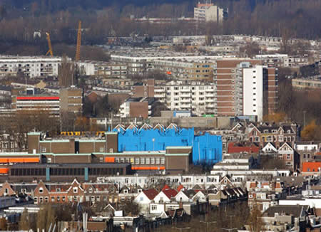 Lovely The Borough Of Delfshaven, Rotterdam, Asked Schildersbedrijf Nu0026F Hijnen To  Come Up With A Plan For A Block Of Derelict Buildings, Which Will  Eventually Be ... Pictures Gallery