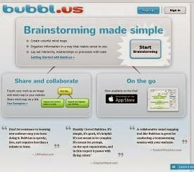 Thinking Map, Design Thinking, Collaboration, Collaborative Tool, Brainstorming, Bubbl.us