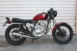 "Suzuki GN 250 ""Café Racer"""