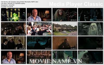 50 khoảnh khoắc tuyệt vời trong series phim Harry Potter, 50 Greatest Harry Potter Moments
