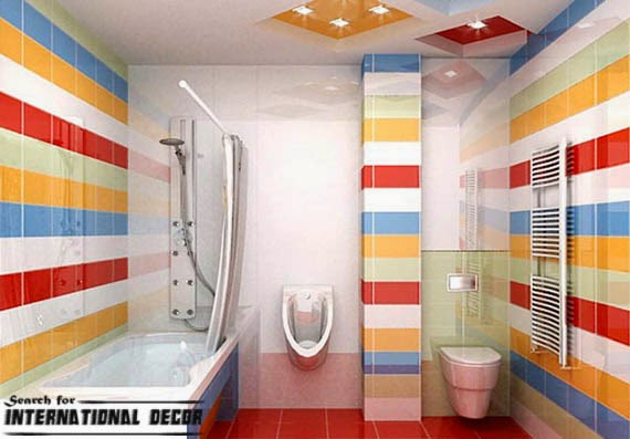 bathroom decor trends,bathroom design ideas,kids bathroom tiles designs