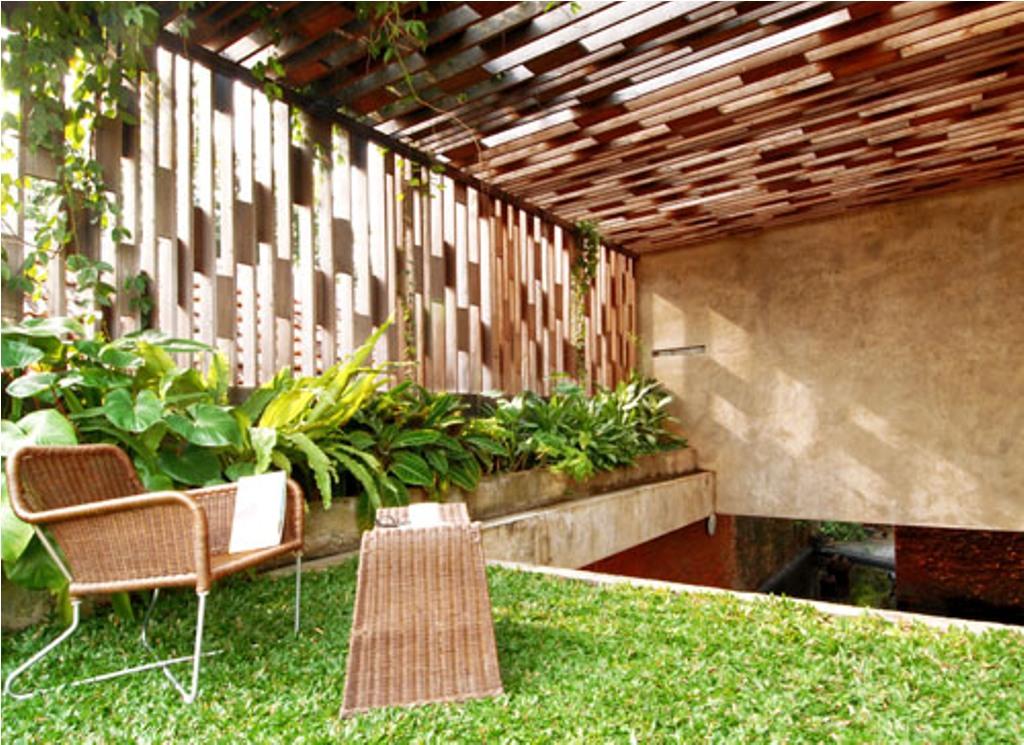 Atap Untuk Taman Dalam Rumah