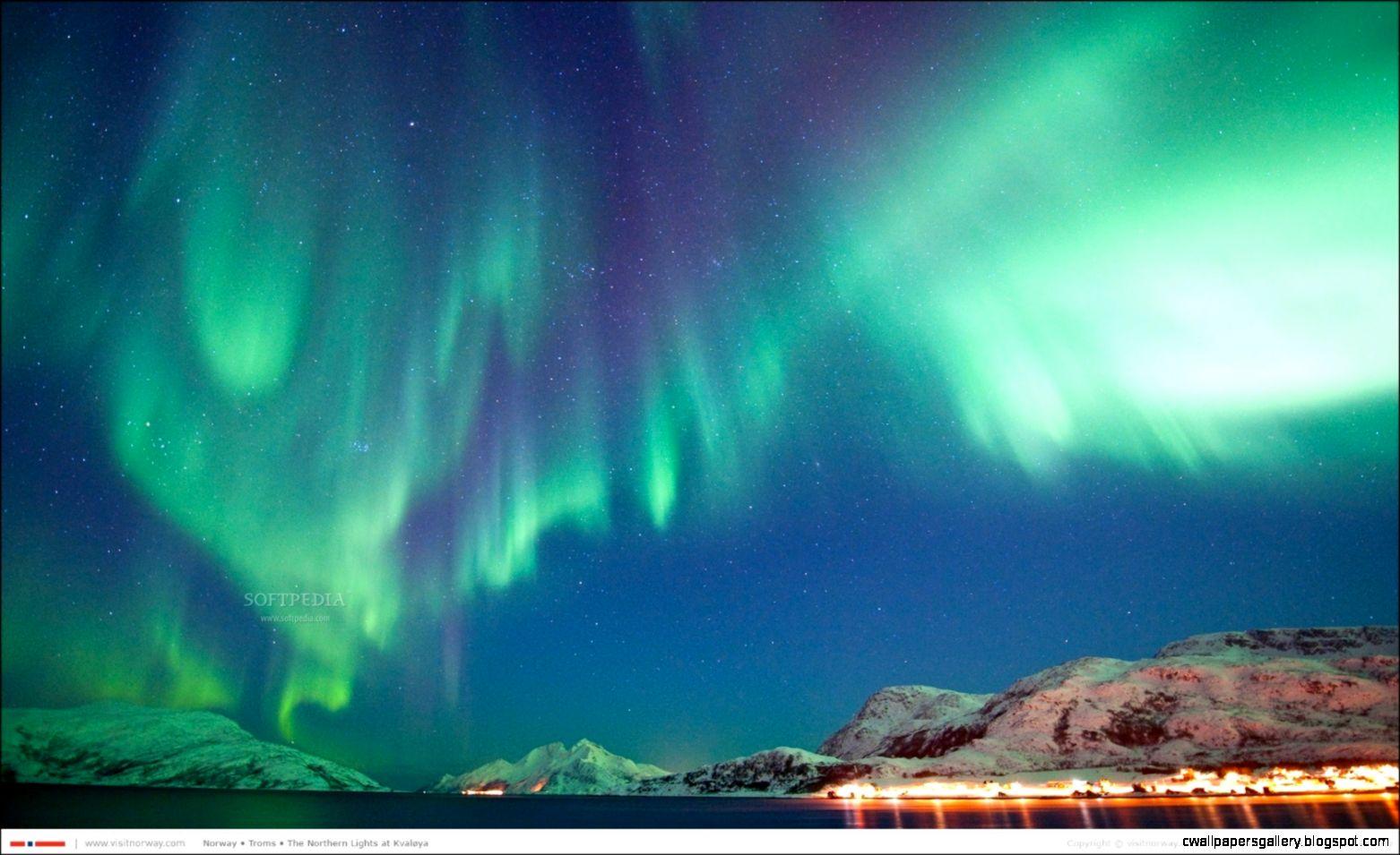 Northern lights screensaver Download Mac