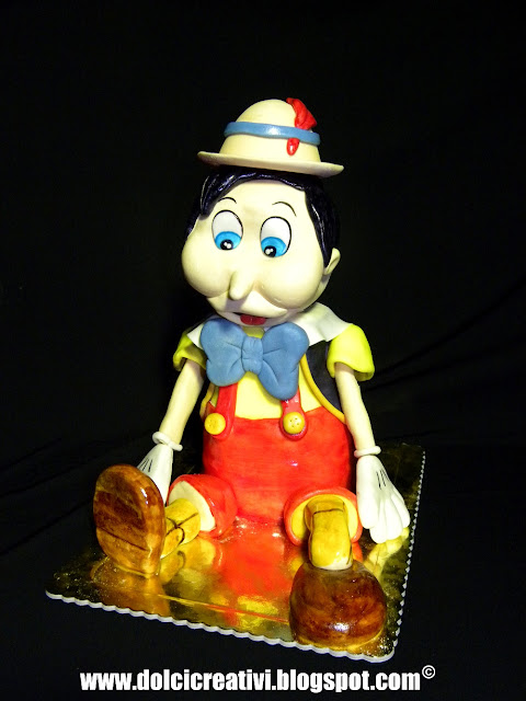 Torta Pinocchio 3d