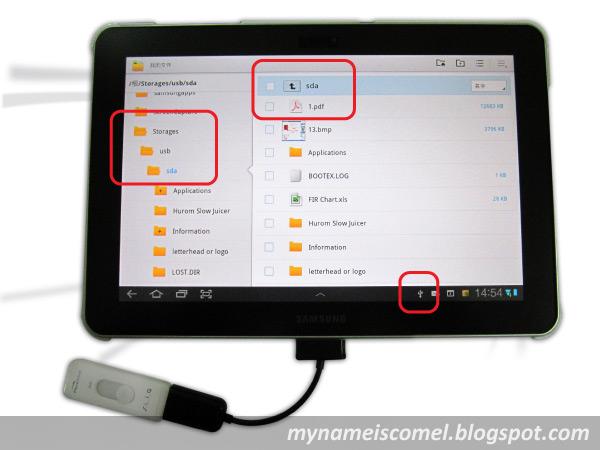 Gadis Comel Female USB Adabter Cable Untuk SAMSUNG Galaxy Tab