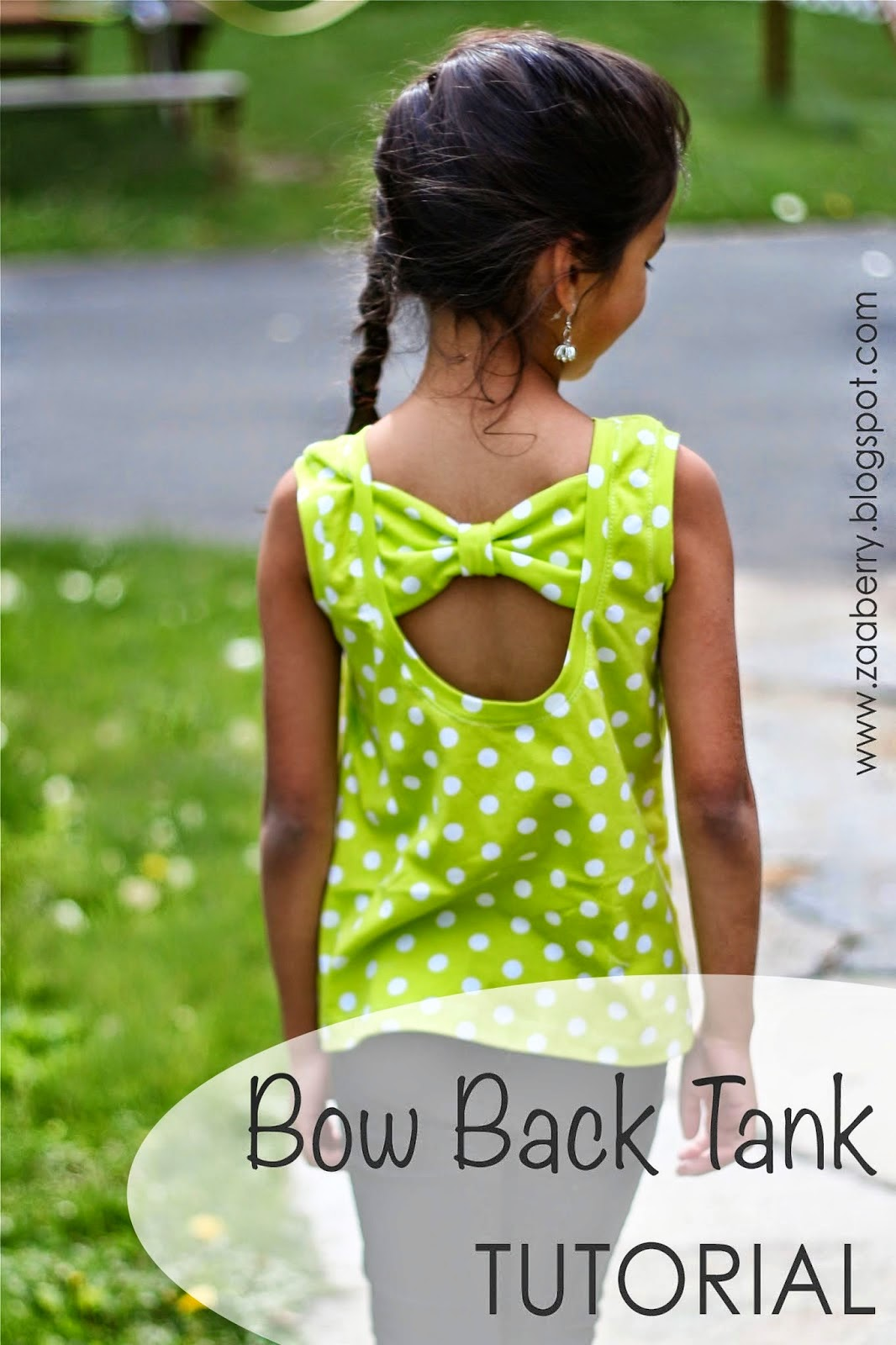 Tank top upcycle sewing