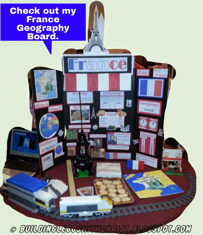 France-Geography-Fair-Board-Display