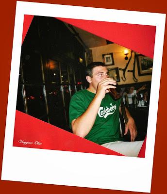 Nico e la birra inglese!