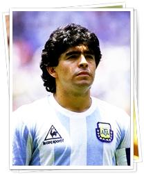 Maradona Pemain sepak bola terbaik di dunia sepanjang masa