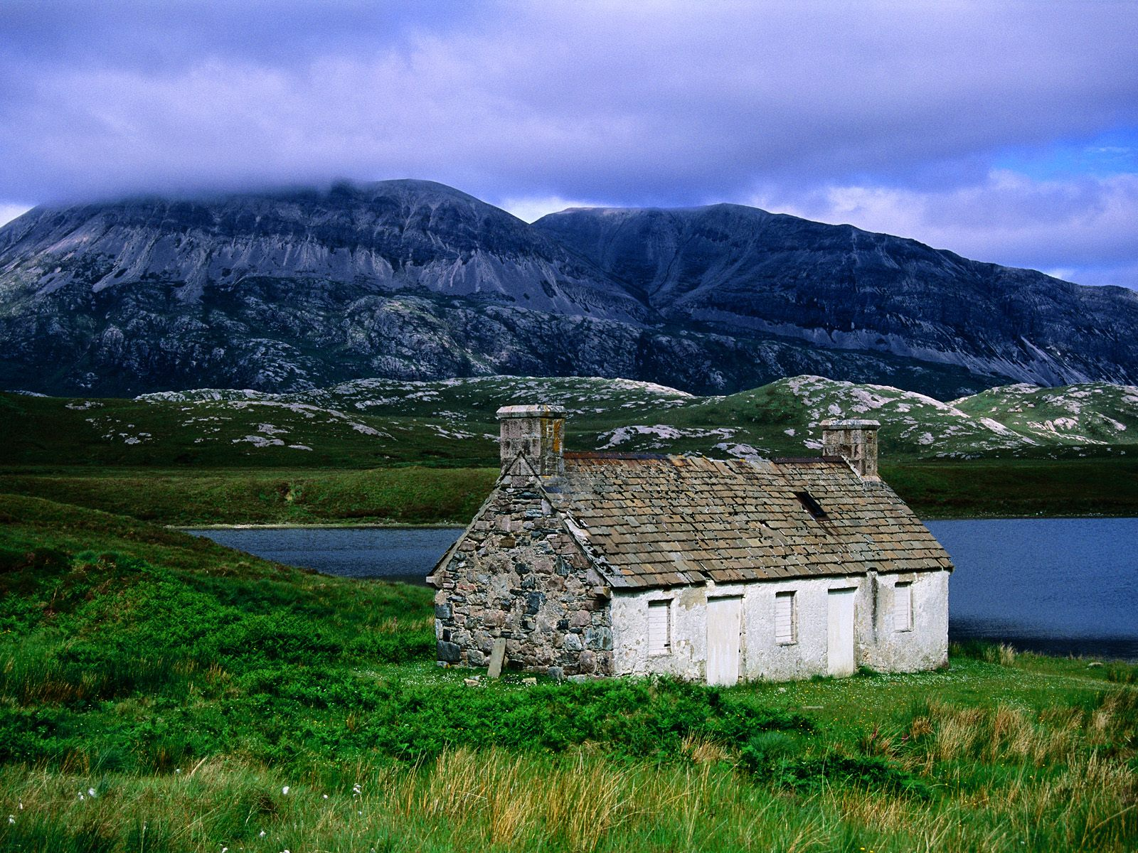 Beautiful country scotland wallpapers wallpapers for Scottish country cottages