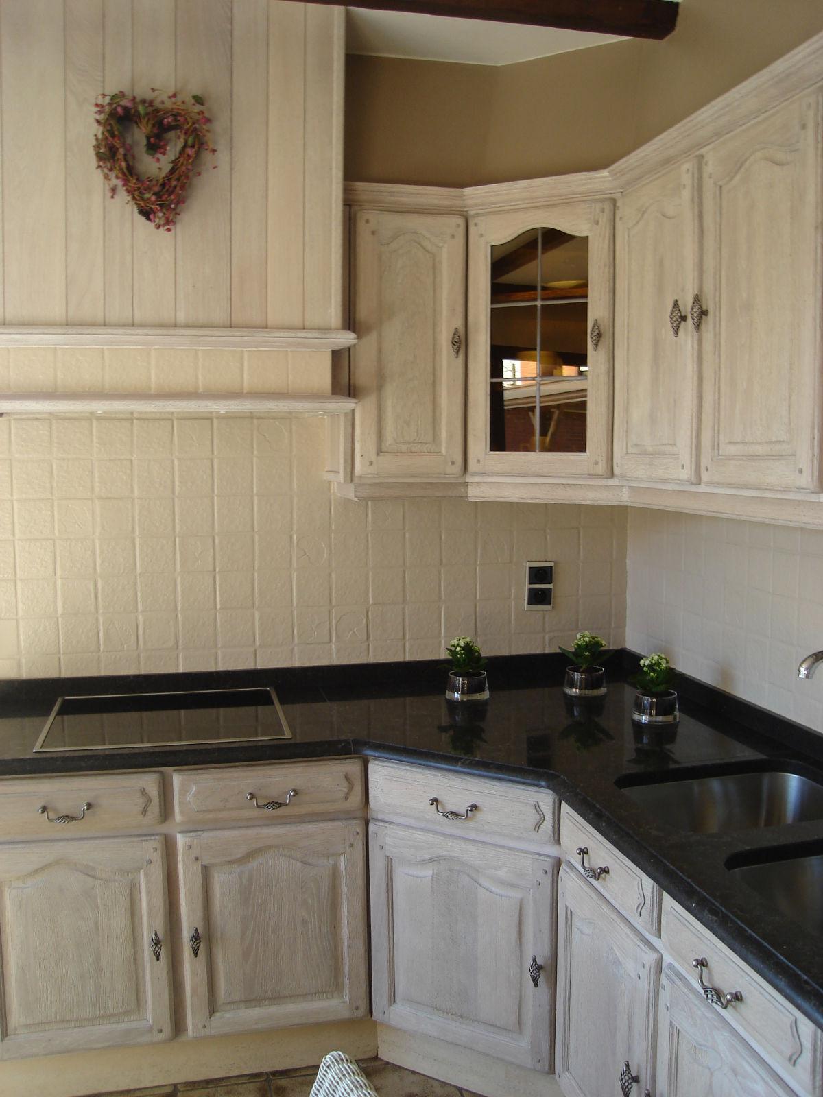 Eiken Keuken Vernissen : Renovatie, zandstralen, beitsen, vernissen van keukens