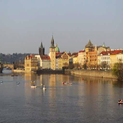 Prague, March, 2014, Capital, Czech Republic