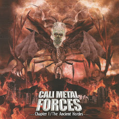 "VV.AA . ""CALI METAL FORCES"" CD (2020)"