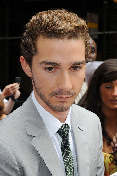 joseph peoples shia labeouf hairstyles