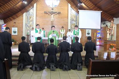 Renovação dos Votos dos Religiosos dos Missionários Servos dos Pobres