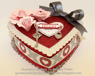 Key To My Heart Valentine Box