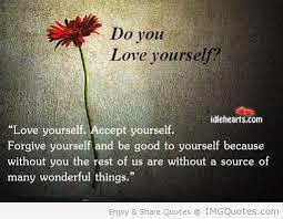 do you love yourself forgiveness quote