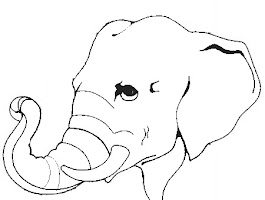Animal Face Mask Coloring Pages