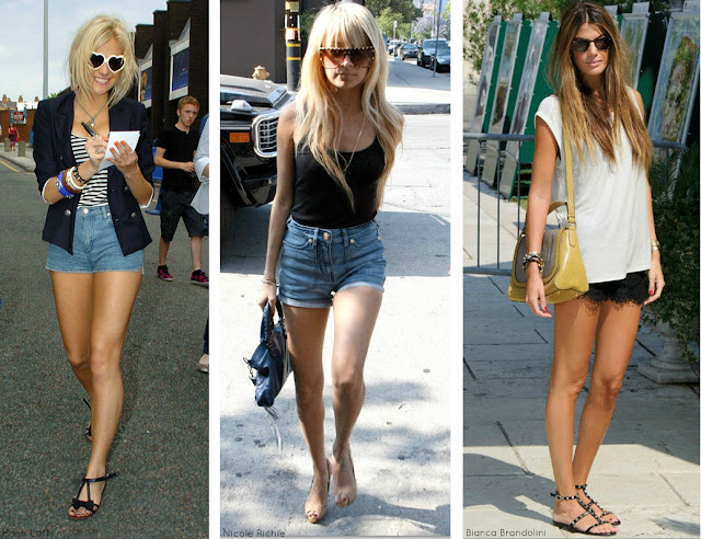 Pixie-Nicole-Bianca Shorts