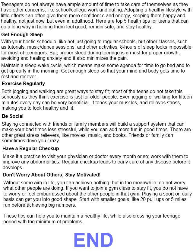 fitness fire : tips