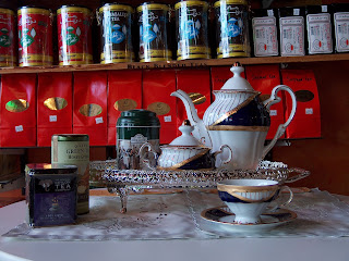 The story of tea begins in ancient China more than 5,000 years ago. Emperor Shen Nung required that all drinking water be boiled to prevent disease. One summer day, while his servants were boiling water for the court to drink, dried leaves from a nearby bush fell into the pot, turning the water brown. Shen Nung was enticed by the aroma, drank some of the liquid, and found it very refreshing. The story of coffee is equally serendipitous. According to legend, an Arab shepherd named Kaldi found his goats prancing energetically around a green-leafed shrub with bright red berries. Kaldi tried the berries himself and discovered their powerful, stimulant effect. The berries were soon used by monks at a local monastery to stay awake during extended hours of prayer. Before long, they were being dried for shipment to other monasteries, where monks pulverized and boiled the powder in hot water for consumption. Coffee was born. The teas and coffees featured at Pars Market are as close to the old-world tradition as you will find. There are white, green, black, red and oolong teas, loose or in silk bags (because paper is bleached, which compromises the purity of tea); herbals and flavored. You''ll also find coffees from around the world, with specialty coffees from Italy, Turkey, Armenia, Brazil, Greece and Egypt.