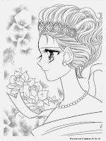 Gambar Mewarnai Untuk Anak Perempuan Happy Paradise