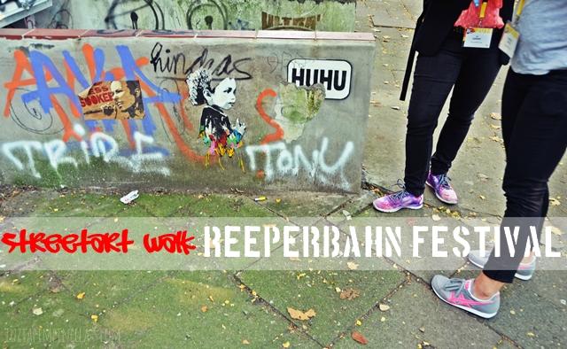 luzia pimpinella | travel hamburg | reeperbahnfestival - streetart walk