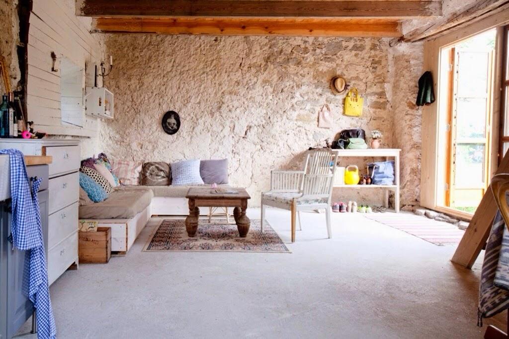 Decoraci n f cil una casa de verano en suecia y un rincon con antes y despu s - Casas reformadas antes y despues ...