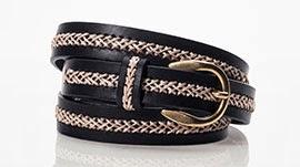 cinturón de piel mujer Massimo Dutti primavera verano 2014