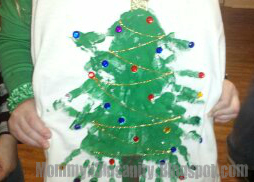 Mommy x 3= Insanity: Oh Christmas Tree Shirt, Oh Christmas Tree Shirt How Lovely Are Your Branches