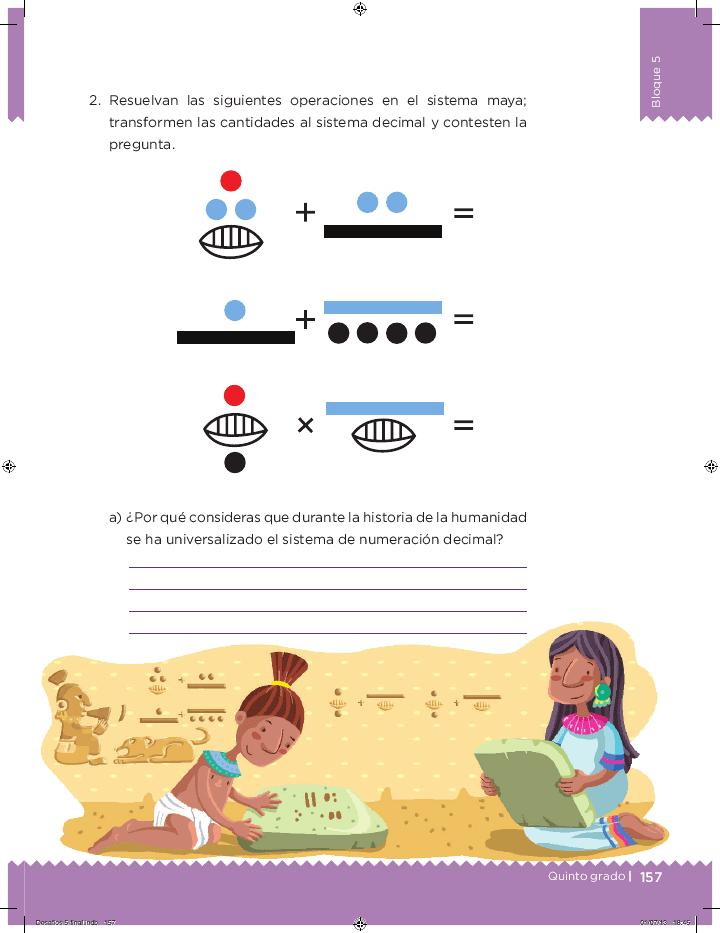 Es más fácil - Desafíos matemáticos 5to Bloque 5 ~ Apoyo