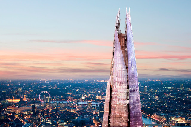 the shard presentation Attached to the eastern corner of the shard is the 'back pack' or london bridge place, a 55,740 sq ft office and retail block this block, also designed by renzo piano, was built to compensate for the floor space lost by the tapering shape of the shard.