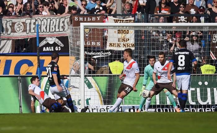 FSV Frankfurt 1:0 FC St. Pauli - Perdemos a chance de subir para 3ª colocação