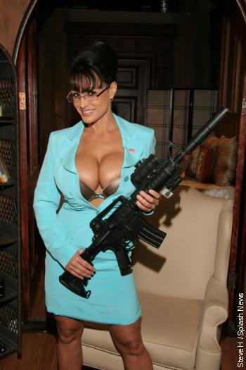 lisa ann in sarah palin tits