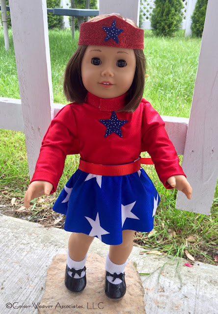 Patriotic tap outfit by Geiser-Weaver Associates, LLC